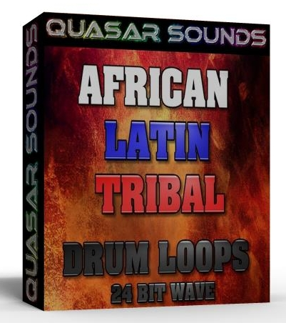 AFRICAN - LATIN - TRIBAL DRUM LOOPS 1  BOX