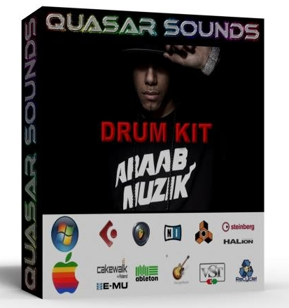 AraabMuzik DRUM KIT wave samples   $19.95