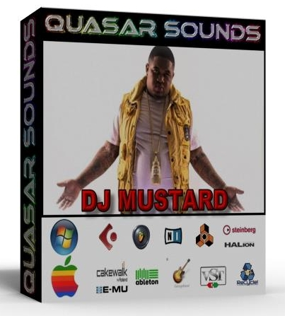 DJ MUSTARD DRUM KIT & SOUNDS SAMPLE KIT    $19.95