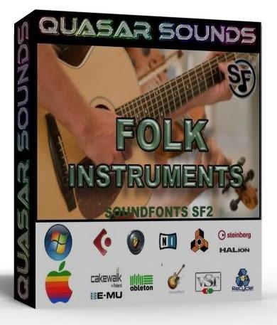 FOLK MUSIC INSTRUMENTS Soundfonts SF2