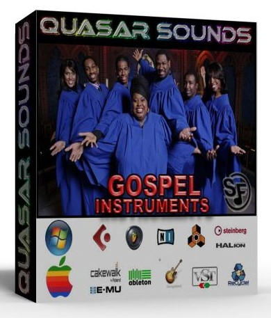 GOSPEL MUSIC INSTRUMENTS Soundfonts SF2
