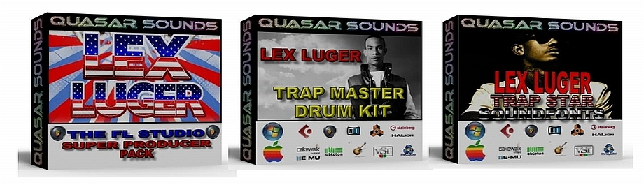 LEX LUGER DRUM KIT & SOUNDS MONSTER Bundle Pack