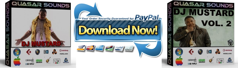 DJ MUSTARD DRUM KIT Bundle Pack