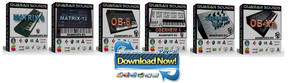 OBERHEIM SYNTH SAMPLES Bundle Pack