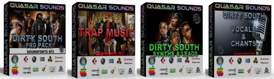 TRAP DIRTY SOUTH DOMINATION PRODUCER KIT Bundle Pack