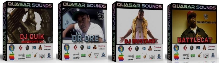 WEST COAST HIP HOP DOMINATION DRUM KIT Bundle Pack