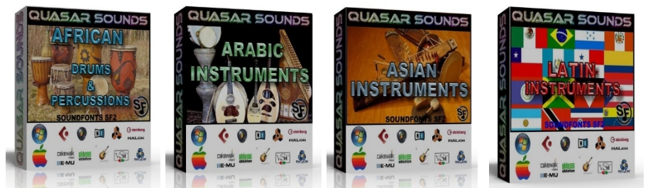 WORLD INSTRUMENTS SOUNDFONTS Bundle Pack