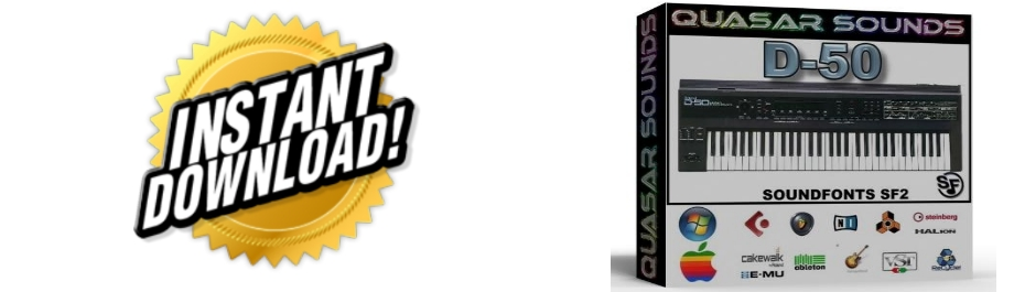 ROLAND D50 WAVE SAMPLES Kontakt Logic Cubase Reason