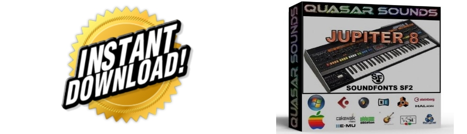 ROLAND JUPITER 8 WAVE SAMPLES Kontakt Reason Logic Cubase