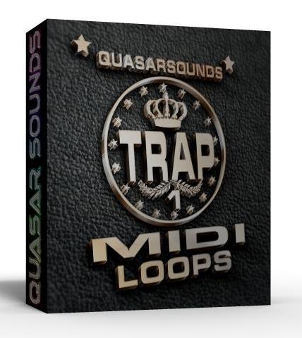 TRAP MIDI LOOPS VOL.1    $ 24.95