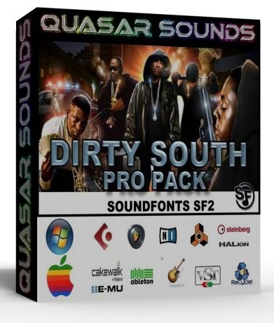DIRTY SOUTH MASSIVE PRO Pack 1 Soundfonts Sf2