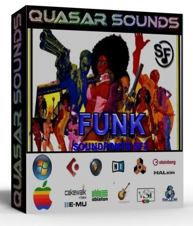 FUNK MUSIC INSTRUMENTS - SOUNDFONTS SF2  $19.95