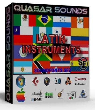 LATIN MUSIC INSTRUMENTS - SOUNDFONTS SF2