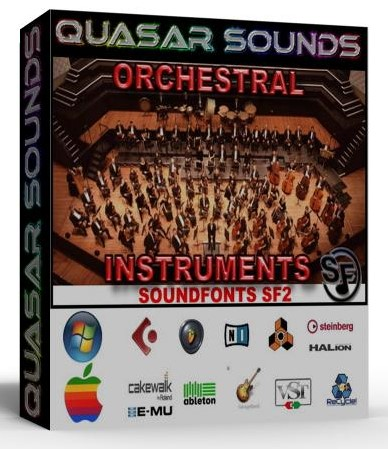 ORCHESTRAL SOUNDFONTS INSTRUMENTS SF2