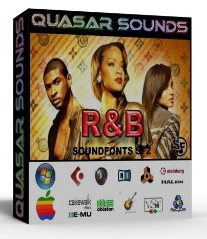 R&B INSTRUMENTS - DRUMS - SOUNDFONTS SF2