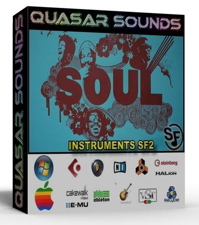 SOUL INSTRUMENTS - DRUMS - SOUNDFONTS SF2