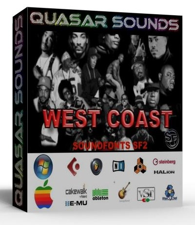 WEST COAST HIP HOP - SOUNDFONTS SF2