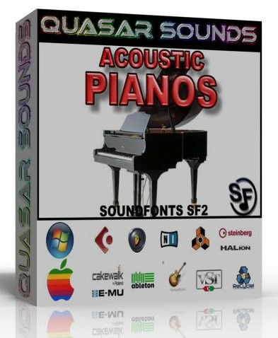 ACOUSTIC PIANOS SOUNDFONTS INSTRUMENTS SF2