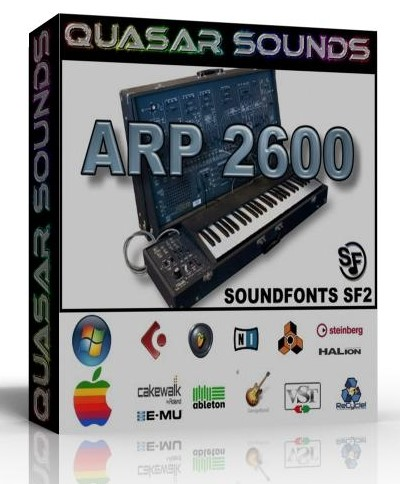 ARP 2600 SAMPLES WAVE KONTAKT REASON LOGIC HALION
