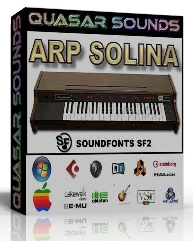 ARP SOLINA STRINGS SAMPLES WAV KONTAKT REASON LOGIC HALION  $14.95