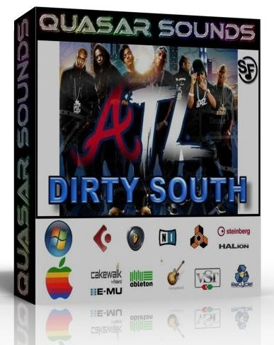 ATL DIRTY SOUTH KIT - WAVE KONTAKT REASON LOGIC HALION
