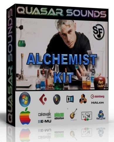 ALCHEMIST SAMPLES KIT WAVE KONTAKT REASON LOGIC HALION