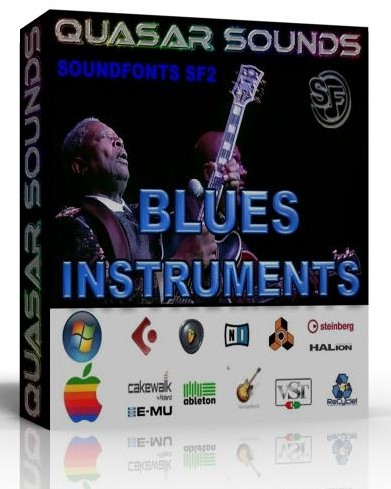 BLUES INSTRUMENTS SAMPLES - WAV KONTAKT LOGIC REASON