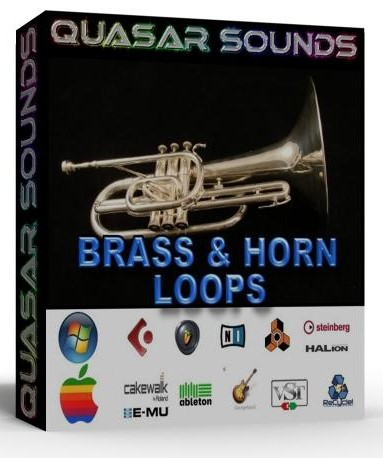 BRASS AND HORN WAV LOOPS - HIP HOP - DIRTY SOUTH - RnB  $14.95