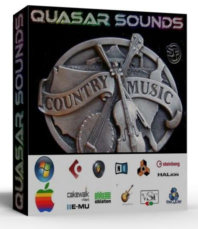 COUNTRY - WESTERN INSTRUMENTS - WAV KONTAKT REASON LOGIC