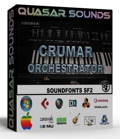 CRUMAR ORCHESTRATOR SAMPLES WAVE KONTAKT REASON LOGIC  $14.95