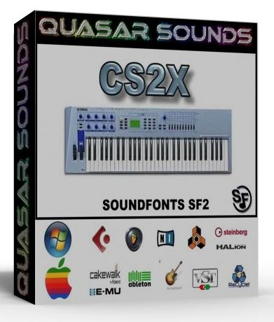 YAMAHA CS2X SAMPLES WAVE KONTAKT REASON LOGIC HALION