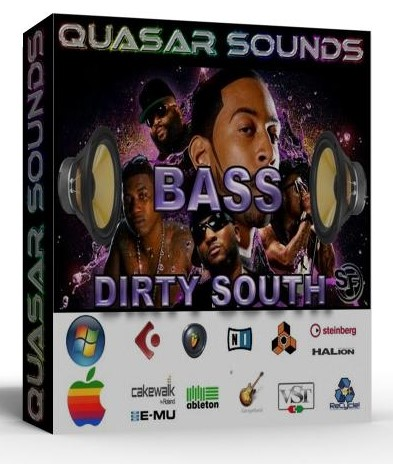 DIRTY SOUTH BASS VOL.1 - SOUNDFONTS SF2  $19.95