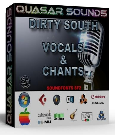 DIRTY SOUTH VOCALS & CHANTS KIT - SOUNDFONTS SF2