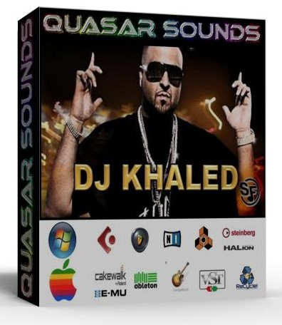 DJ KHALED KIT - SOUNDFONTS SF2  $19.95