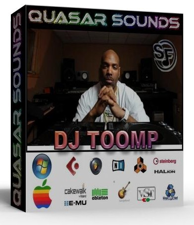 DJ TOOMP KIT - SOUNDFONTS SF2  $19.95
