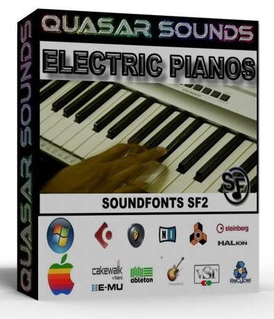 ELECTRIC PIANO SOUNDFONTS INSTRUMENTS SF2