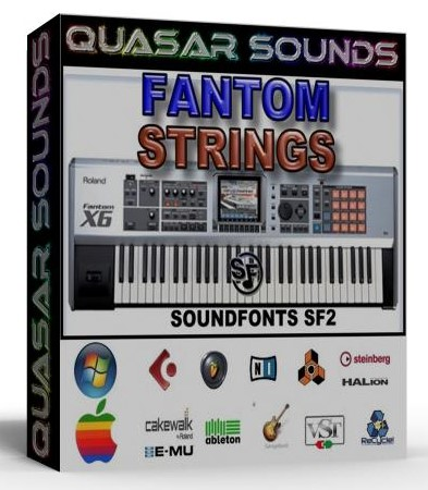 ROLAND FANTOM ORCHESTRA STRINGS - SOUNDFONTS SF2