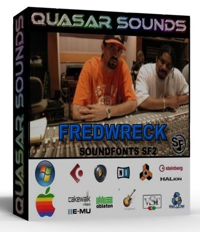 FREDWRECK SAMPLES WAVE KONTAKT REASON LOGIC HALION