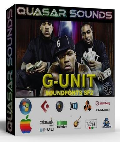 G-UNIT KIT - SOUNDFONTS SF2  $19.95