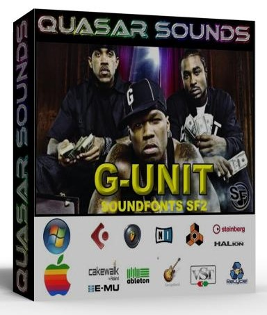 G UNIT SAMPLES KIT WAVE KONTAKT REASON LOGIC HALION