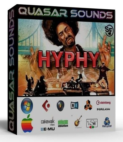 HYPHY DRUM KIT - SOUNDFONTS SF2  $19.95