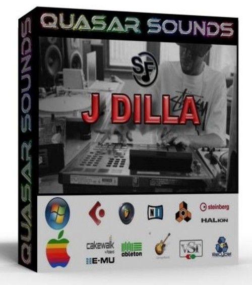 J DILLA KIT - DRUMS INSTRUMENTS - KONTAKT LOGIC REASON