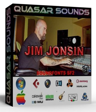 JIM JONSIN KIT - SOUNDFONTS SF2  $19.95