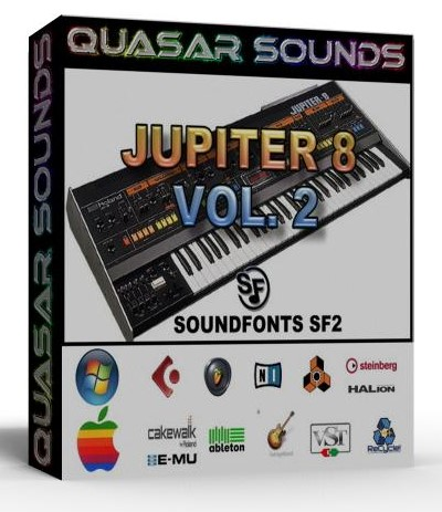 ROLAND JUPITER 8 VOL.2 SAMPLES WAVE KONTAKT REASON LOGIC