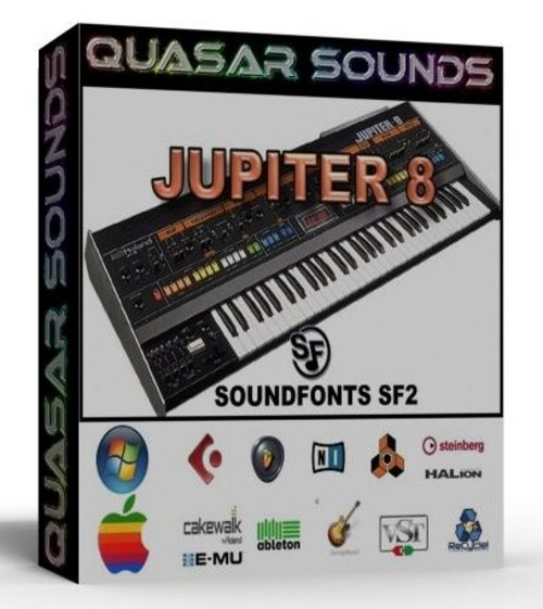 ROLAND JUPITER 8 SAMPLES WAVE KONTAKT REASON LOGIC HALION  $19.95