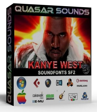KANYE WEST KIT DRUMS INSTRUMENTS Samples wav