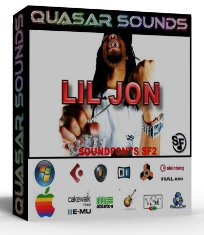 LIL JON KIT DRUMS INSTRUMENTS Samples wav