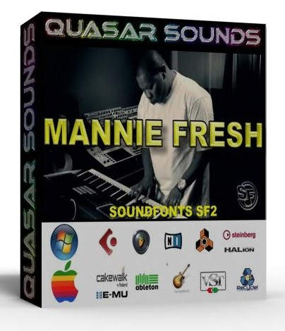 MANNIE FRESH - CASH MONEY KIT - SOUNDFONTS SF2