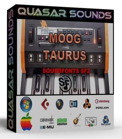 MOOG TAURUS  WAVE SAMPLES Kontakt Logic Cubase Reason