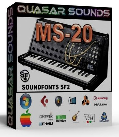 KORG MS-20 SAMPLES WAVE KONTAKT REASON LOGIC HALION